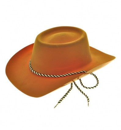 Brown Cowboy Hat (flock)