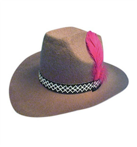 Brown Cowboy Hat (felt)