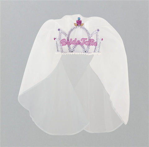 Tiara with veil - Bride To Be