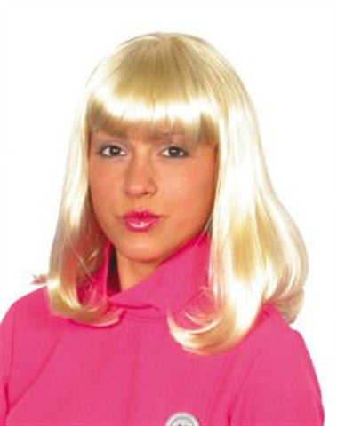 Blonde Cheerleader Wig
