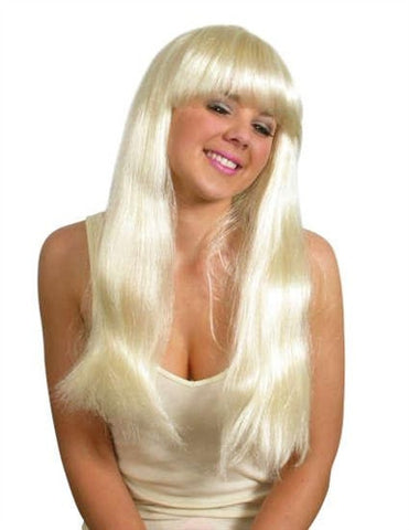 Blonde Country Girl Wig