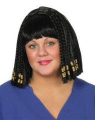 'Queen of the Nile' Deluxe Beaded Wig