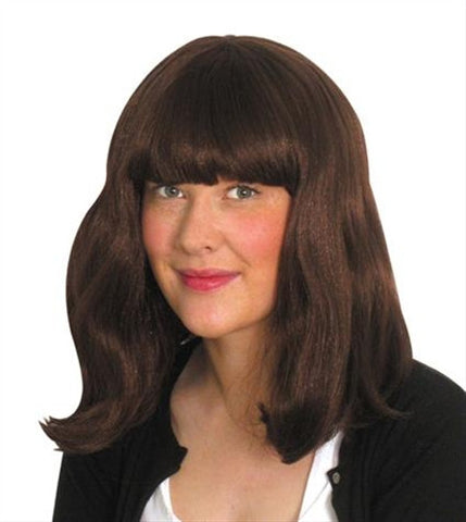 Party Style Brown Wig