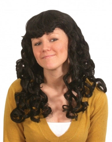 Party Girl Wig - Black