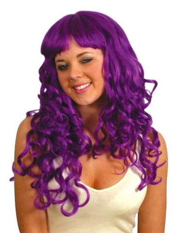 Party Girl Wig - Purple