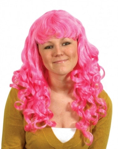 Party Girl Wig - Pink