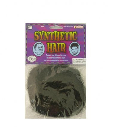 Synthetic Hair - Black