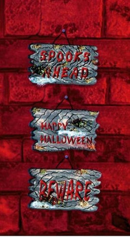 Halloween Door Plaque