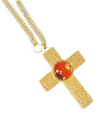 Golden Cross Necklace
