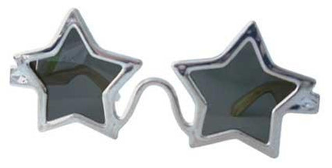 Silver Star Shaped Specs