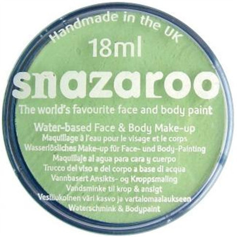 Snazaroo: 18ml Pale Green