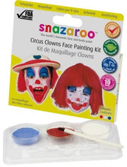 Clown Theme Face Painting Sticks