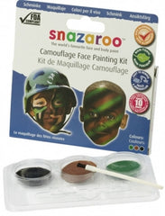 Army Camouflage Face Painting Sticks