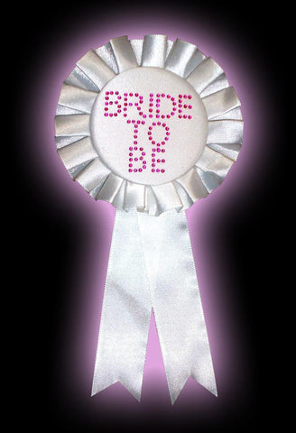 Bride To Be - Diamante Rosette