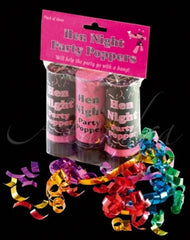 Hen Night - Party Poppers