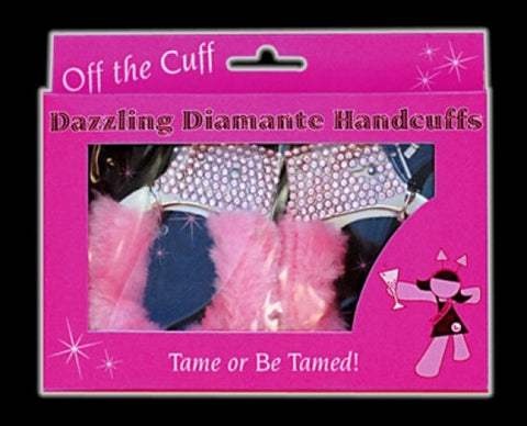 Dazzling Diamante Handcuffs - Hen Night