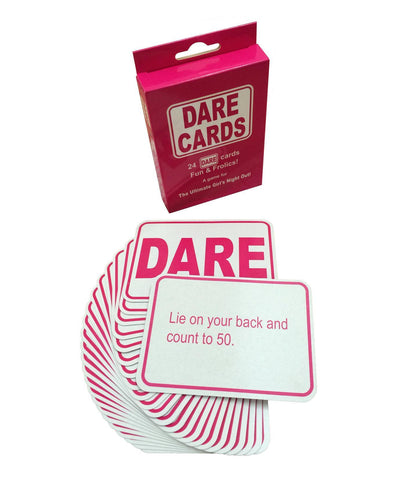 Girls Dare Card Game
