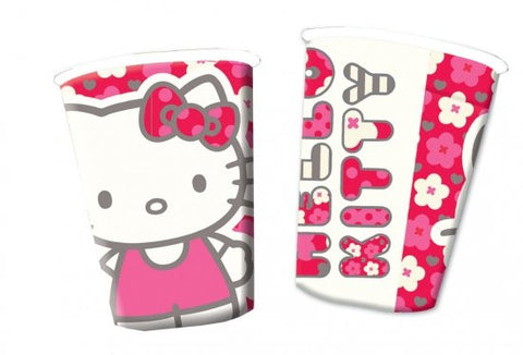 8 Hello Kitty Paper Cups
