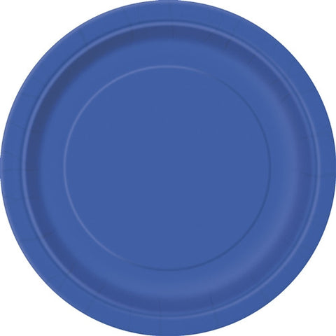 8 Royal Blue PaParty Essentialsr Plates