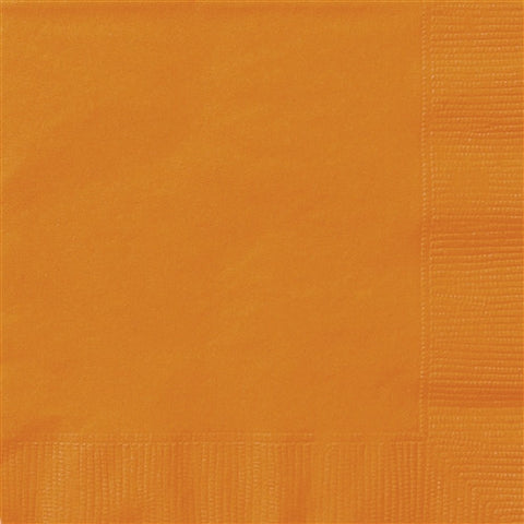 Pumpkin Orange Lunch Napkins