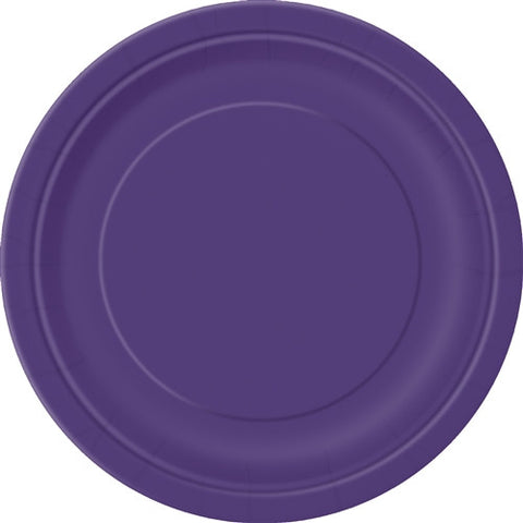 8 Purple PaParty Essentialsr Plates