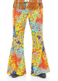 Psychedelic Floral Trousers