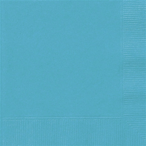 Caribbean Teal Lunch Napkins