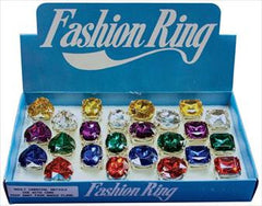 Jumbo Stone Fashion Ring