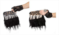 Fringe Feather Handbag