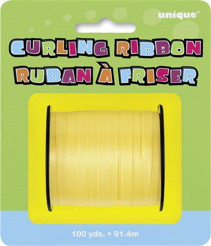 Curling Ribbon - Yellow