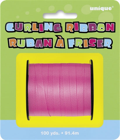 Curling Ribbon - Hot PInk