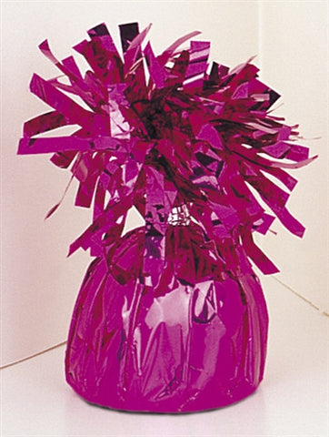 Dome Shaped Balloon Weight - Magenta