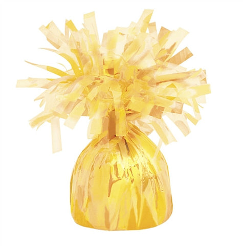 Dome Shaped Balloon Weight - Yellow
