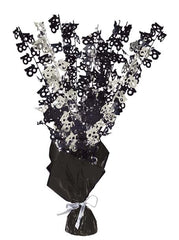 Glitz Black Balloon Weight Centrepiece - 18