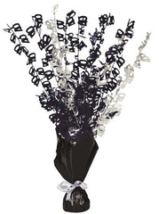 Glitz Black Balloon Weight Centrepiece - 40