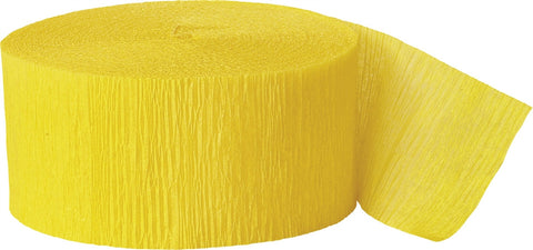 Crepe Roll Yellow