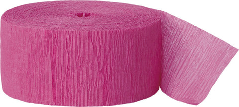 Crepe Roll Hot Pink