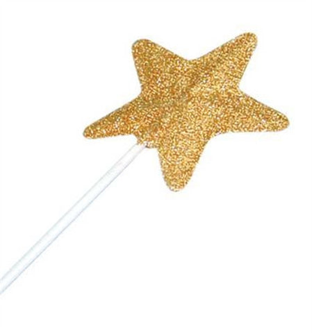 Gold Glitter Fairy Wand