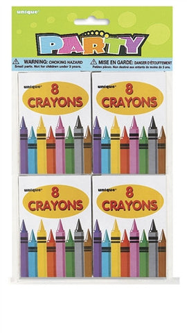 8 Boxes of Crayons