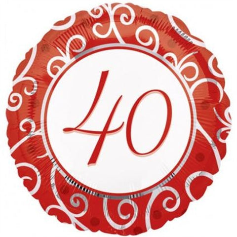 40th Anniversary - Foil Balloon
