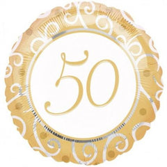 50th Anniversary - Foil Balloon