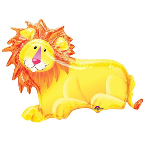 Jungle Party Lion - Foil Balloon