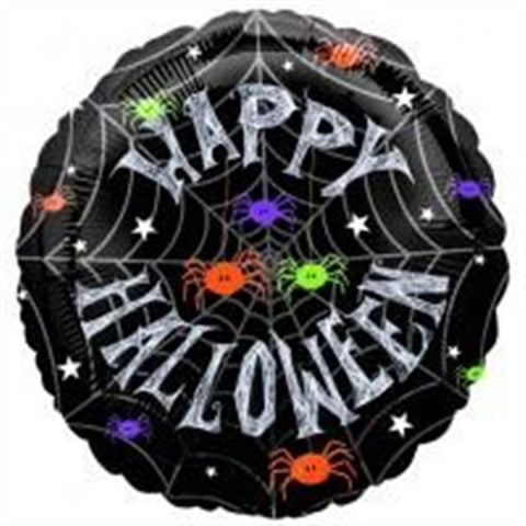 Spider Frenzy - Foil Balloon