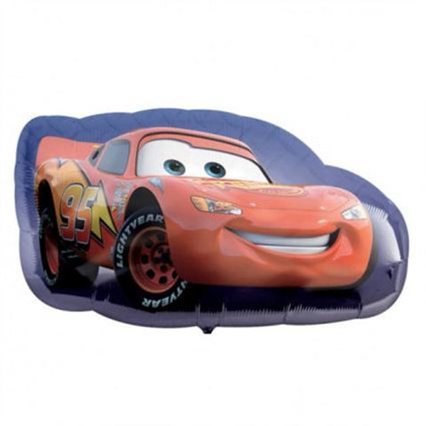 Lightning McQueen Car - Foil Balloon