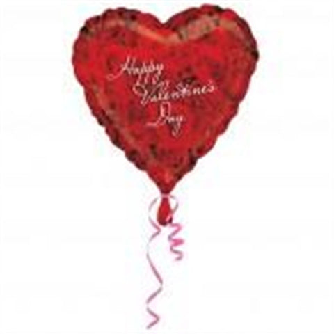 Happy Valentine's Day - Foil Balloon (Photo Rose)