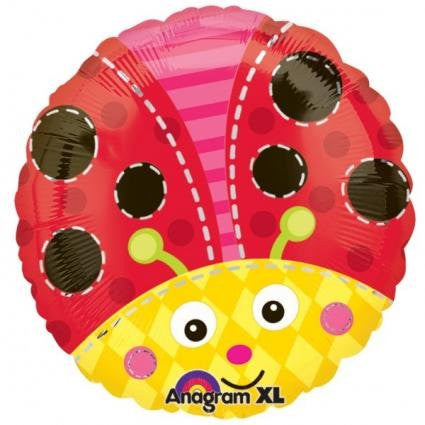 Foil Balloon - Cute Lady Bug
