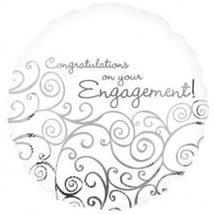 Engagement Congratulations - Foil Balloon