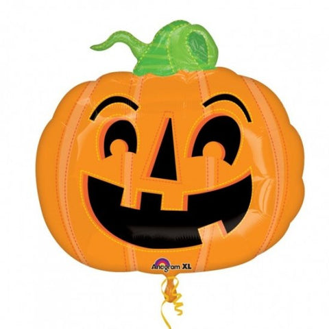 Happy Pumpkin - Supershape Foil Balloon