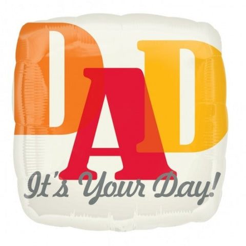 Foil Balloon - Dad It's Your Day!