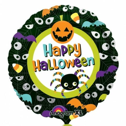 Happy Halloween Eyes - Foil Balloon